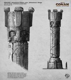 Atlantean Pillars