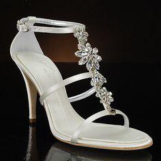 strappy wedding sandals