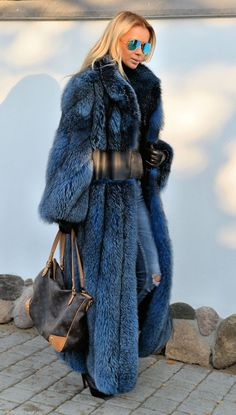 //Pinterest @esib123 // #style #inspo  fur coat and LV bag