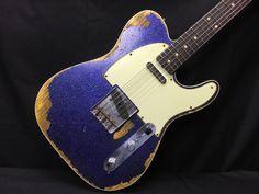 【Fender - Telecaster Custom Purple Sparkle】