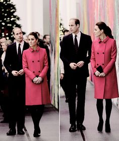 The Duke and Duchess of Cambridge in New York City. Princess Kate Middleton, Kate Middleton Style, Prince William And Kate, William Kate, Duke And Duchess, Duchess Of Cambridge, Duchesse Kate, Middleton Family, Princess Charlotte