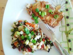fitrecepty: Tofu vo vajíčku