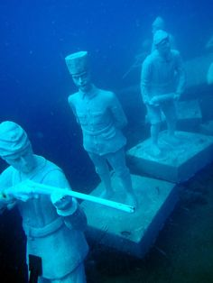 underwater museum, side, antalya, turkey
