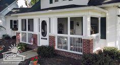 screened in porch ideas | Screened-In Porch Ideas, Designs & Decorations -