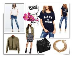 """""""Yoins 7"""" by april-lover ❤ liked on Polyvore featuring Karl Lagerfeld, MICHAEL Michael Kors and yoins"""