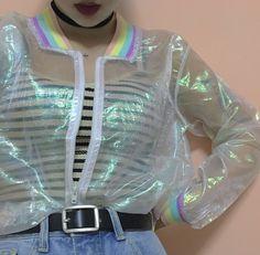 Harajuku gradient zipper prevented bask coat · Cute Kawaii {harajuku fashion} · Online Store Powered by Storenvy