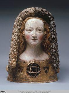 ☥ Figurative Ceramic Sculpture ☥  Reliquary circa 1350