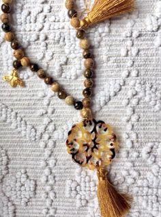 Tassel Necklace, Tassels, Jewelry, Amor, Jewellery Making, Jewelery, Tassel, Jewlery, Jewels