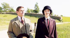 Mary Crawley & Tom Branson in Downton Abbey 6.05 ..