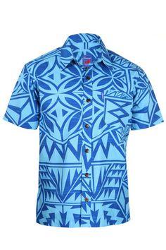 Men's Elei Shirt Tribal Shirt, Island Shirts, Different Dresses, Ethnic Fashion, Dance Costumes, Designer Dresses, Men Casual, Hawaii Shirts, Mens Tops