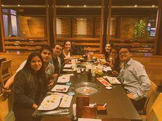 Cena entre amigos. Para qué más?#NoHayOtraPapá