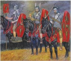 Praetorian Guard Cavalry, early II Century AD.
