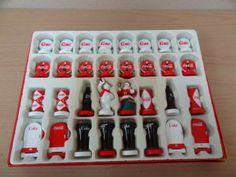 shopgoodwill.com: Coca-Cola Chess Set
