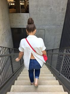 MAXIMIZE YOUR WARDROBE: 14 WAYS TO WEAR HIGH WAIST SKINNY JEANS Casual Jeans, Casual Chic, White Outfits, Summer Outfits, Work Outfits, Casual Outfits, Trendy Girl, Julia, Fashion Tips For Women