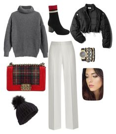 """""""Untitled #136"""" by sarrabaccouch on Polyvore featuring Chanel, Miss Selfridge, 3.1 Phillip Lim and Jessica Carlyle"""
