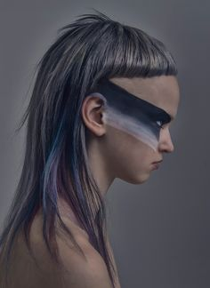 No, you don't need all that hair Creative Hairstyles, Cool Hairstyles, Hair Art, Your Hair, Mullet Hairstyle, Avant Garde Hair, Corte Y Color, Editorial Hair, Alternative Hair