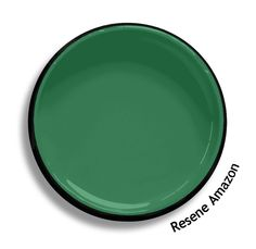 Resene Amazon is a green between jade and viridian, full of life. From the Resene BS5252 colours collection. Try a Resene testpot or view a physical sample at your Resene ColorShop or Reseller before making your final colour choice. www.resene.co.nz Turquoise Paint Colors, Turquoise Painting, Paint Colours, Bathroom Paint Colors, Interior Paint Colors, Paint Swatches, Color Swatches, Painting For Kids, House Painting