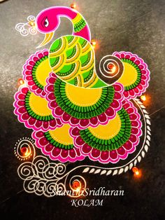 51 Diwali Rangoli Designs Simple and Beautiful Easy Rangoli Designs Videos, Rangoli Designs Latest, Simple Rangoli Designs Images, Rangoli Border Designs, Rangoli Patterns, Rangoli Ideas, Beautiful Rangoli Designs, Kolam Designs, Latest Rangoli