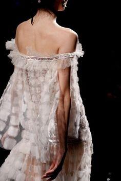 Robe de soirée en mousseline de soie, Chanel Printemps-Eté 2011 Haute Couture
