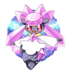Diancie ♡ I give good credit to whoever made this