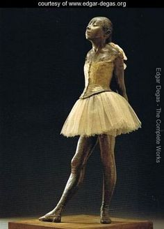 Little Dancer by Degas. She's so beautiful in person!
