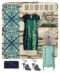 """Owl"" by metka-belina on Polyvore featuring Home Decorators Collection, Jimmy Choo, Pier 1 Imports, Manon Baptiste, Dorothy Perkins and Vintage"