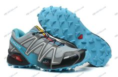 Salomon Speedcross 3 Grey Blue Women's Trail Running Shoes discount shoes Regular Price: $179.74 Special Price $79.99 Free Shipping with DHL or EMS(about 5-9 days to be your door).  Buy Shoes Get Socks Free. Brand: Salomon Shoes Type: Speedcross 3 Color: Grey Blue Gender: Women's Purposes: Trail Running Shoes Size: 36-40
