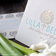 letterpress event planning business cards - Google Search