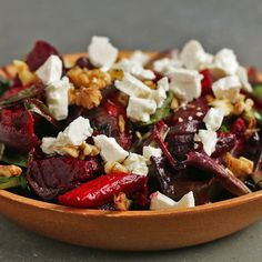 Hearty Roasted Veggie Salad Recipe by Tasty