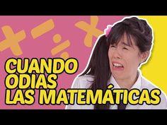 Cuando odias las matemáticas