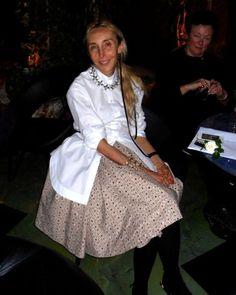 Carla Sozzani durante la serata celebrativa.