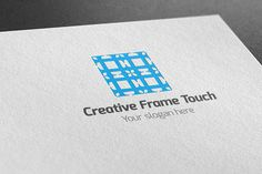 I just released Creative Frame Touch Logo on Creative Market.