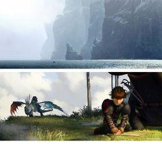 Novas artes de How to Train Your Dragons 2 (vários artistas) | THECAB - The Concept Art Blog