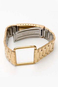 Gold Plated Uhrenarmband Bracelet