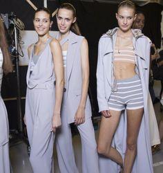 Richard Nicoll RTW Spring 2015 – Backstage – Vogue