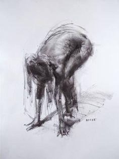 "Saatchi Art Artist Zin Lim; Drawing, ""Figure#D05"" #art"