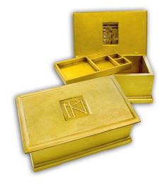 Monogram #Jewellery #Box by Decorative Arts Gallery