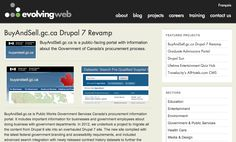 Upgrade of a Large Data Portal to Drupal 7 Procurement Process, Government Of Canada, Career Training, Drupal, News Sites, Portal, Public, Entertaining