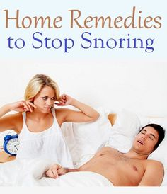 Top 10 Home Remedies to Stop Snoring..