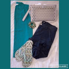 #ootd Cool and fun for the weekend! Jack top, Tory Burch flip flops, Hudson Jeans #shopfayes #shoplocal