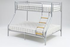 Style ur #kids #bedroom in a #contemporary way by opting this Ideal #Furniture tri #bunk #bed