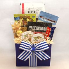 50b94be7d99aa Father s Day Paleo Gift Basket - Give dad some tasty paleo snacks this  Father s Day!