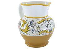 Terracotta Vino Pitcher, 1 liter