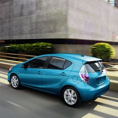 Official 2019 Toyota Prius c site. Let us help you find a new hybrid hatchback car at your local Toyota dealership or build & price your own Prius c online today. Toyota Cars, Toyota Prius, Hybrids And Electric Cars, Toyota Hybrid, Blue Streaks, Automobile Industry, Future Car, Alloy Wheel, Cars