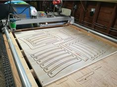 Plastic Monstrosity -- The Printed CNC for Plywood by spiffcow - Thingiverse Plywood Sheets, Plywood Floors, 3d Printing Machine, 3d Printing Diy, Cnc Machine, Plywood Projects, Router Projects, Diy Cnc Router, Ideas