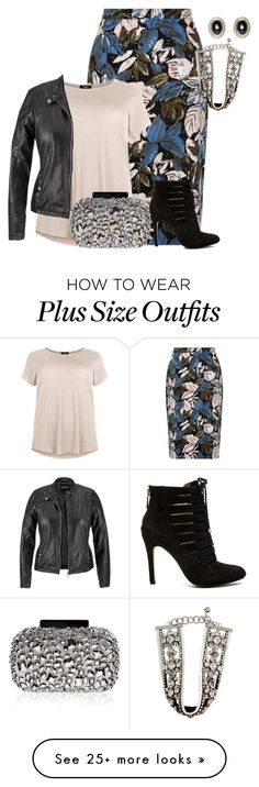 """""""plus size fall/winter night out"""" by kristie-payne on Polyvore featuring SHOUROUK, maurices, BCBGeneration, Givenchy and Lipsy"""