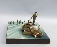 Memel (the End of Capitalism feat. Vladimir Putin) diorama 1/35 from JBA