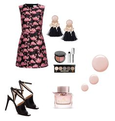 """""""#танцы4"""" by mtis29 on Polyvore featuring мода, RED Valentino, Bobbi Brown Cosmetics, Burberry и Topshop"""