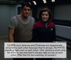 Voyager Confessions - Chakotay and Captain Janeway - The Fight