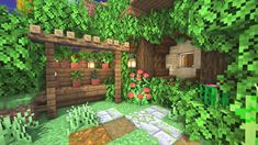 Minecraft Garden Ideas Decorations Minecraft Garden, Minecraft House Plans, Minecraft Farm, Minecraft Mansion, Cute Minecraft Houses, Minecraft Houses Survival, Minecraft House Tutorials, Minecraft House Designs, Amazing Minecraft